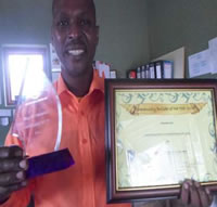 Somila Community Development Association Award